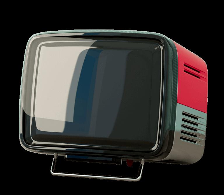 Foto di una tv vintage