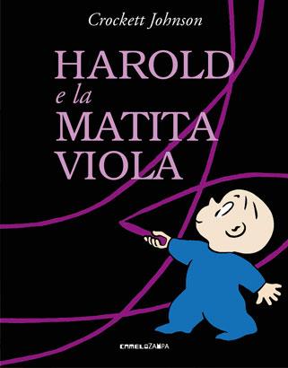 """Cover di """"Harold e la matita viola"""""""