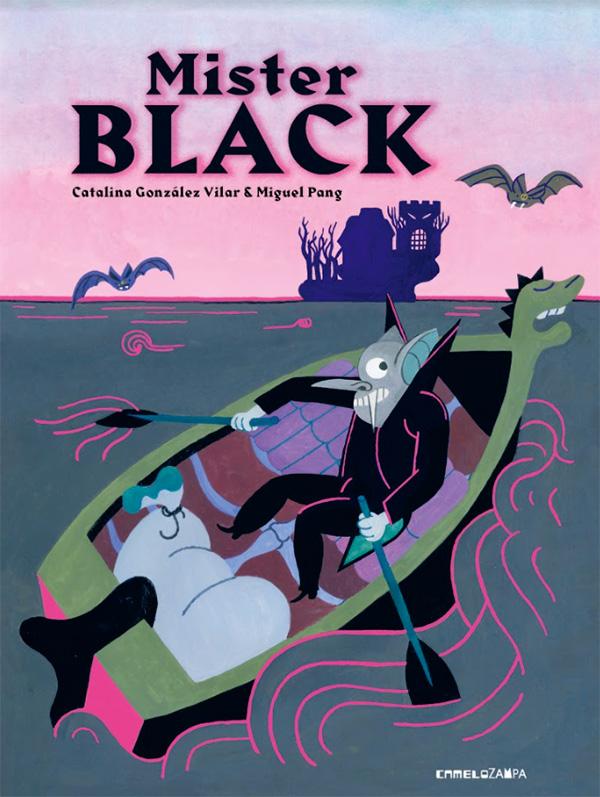 """Cover del libro """"Mister Black"""""""