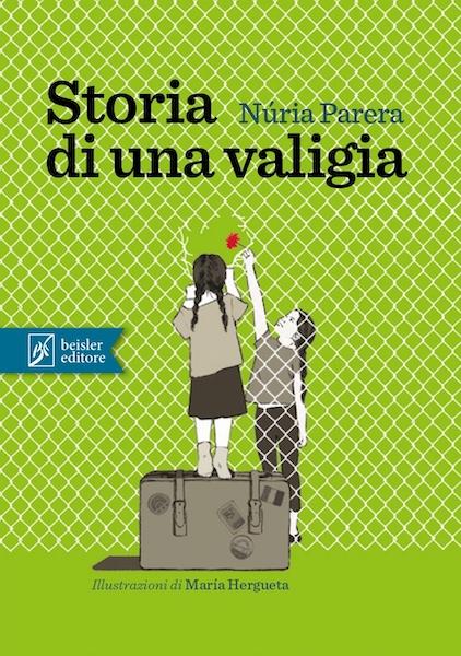 Copertina del libro Storie di una valigia