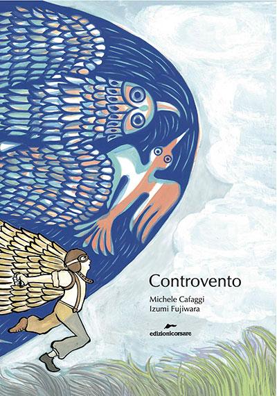"""Copertina del libro """"Controvento"""""""