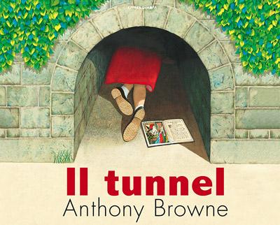 """Copertina del libro """"Il tunnel"""""""