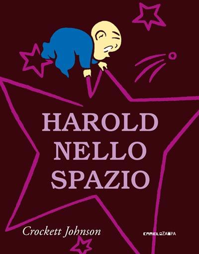 """Copertina del libro """"Harold nello spazio"""""""